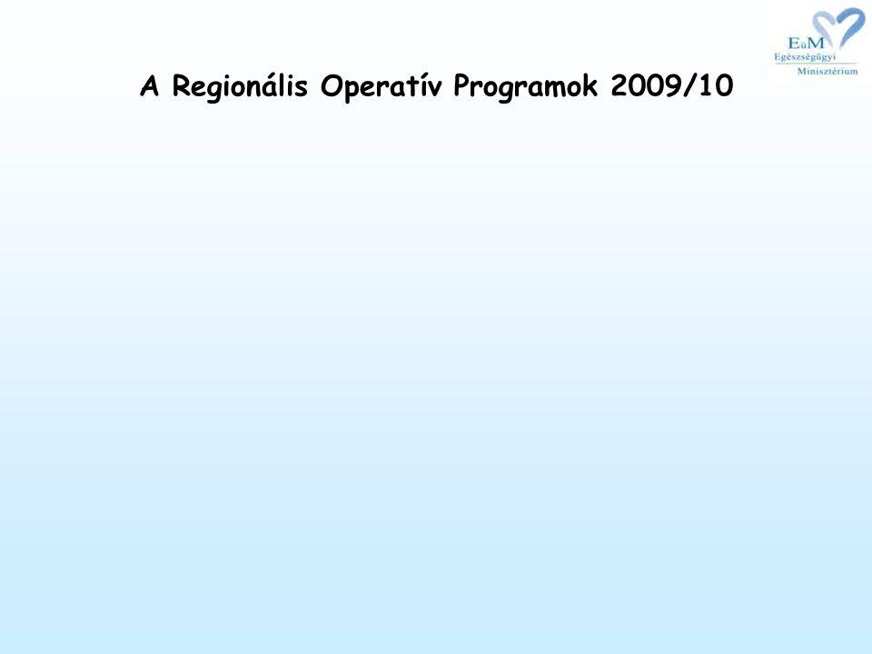 A Regionális Operatív Programok 2009/10
