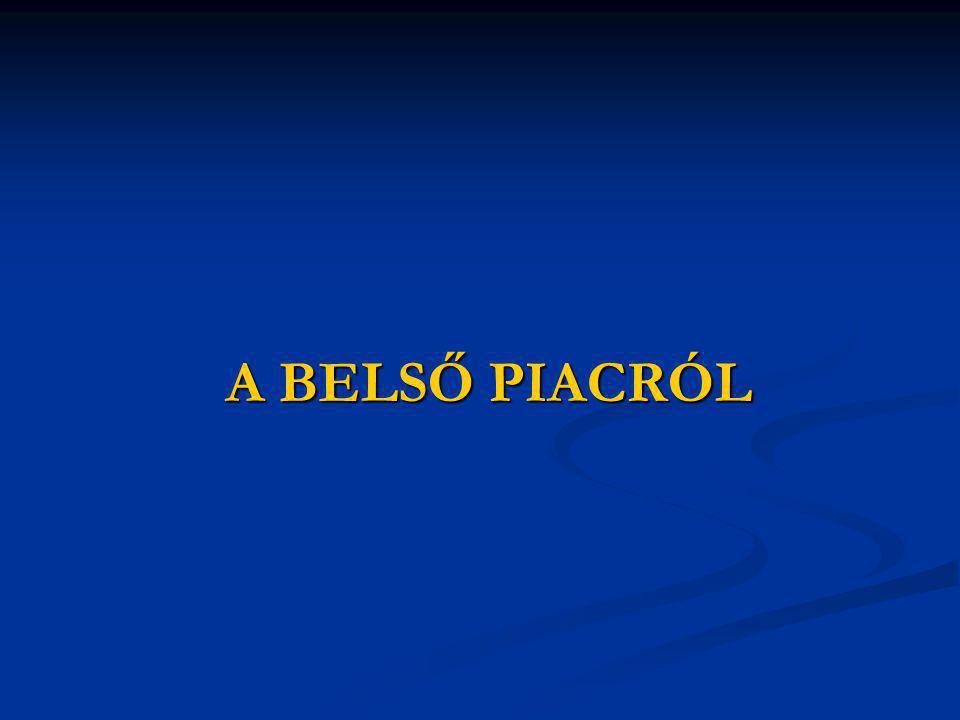 A BELSŐ PIACRÓL