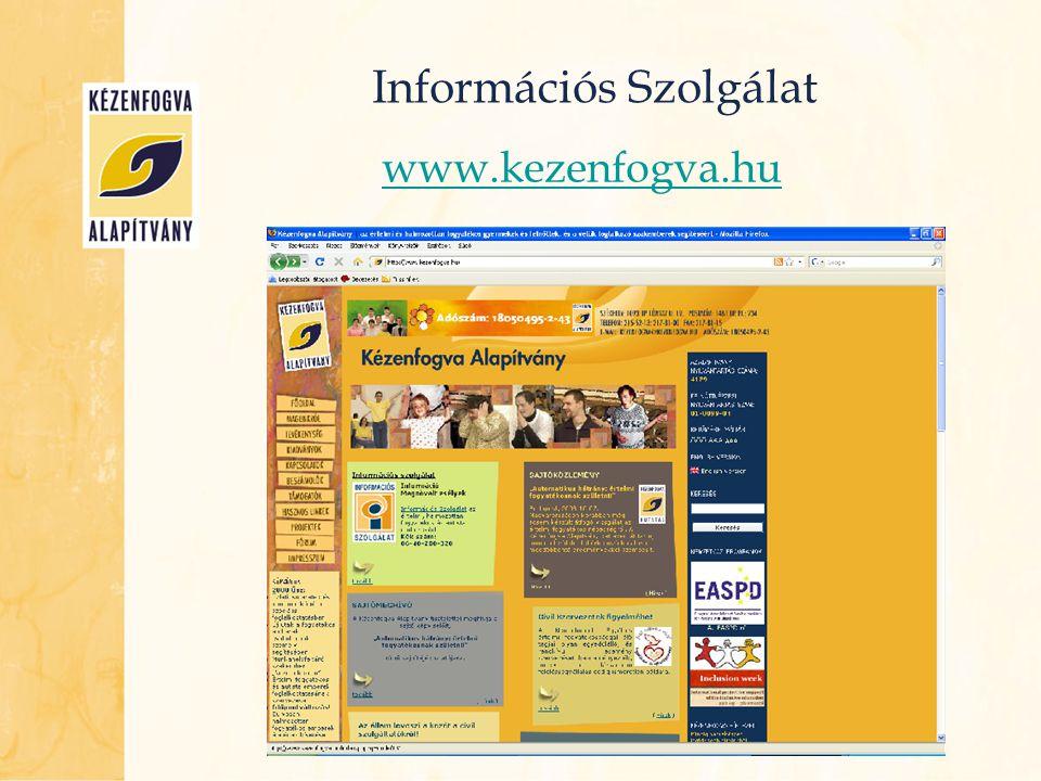 Információs Szolgálat Intézmények  Egyszerű keresés  Összetett keresés