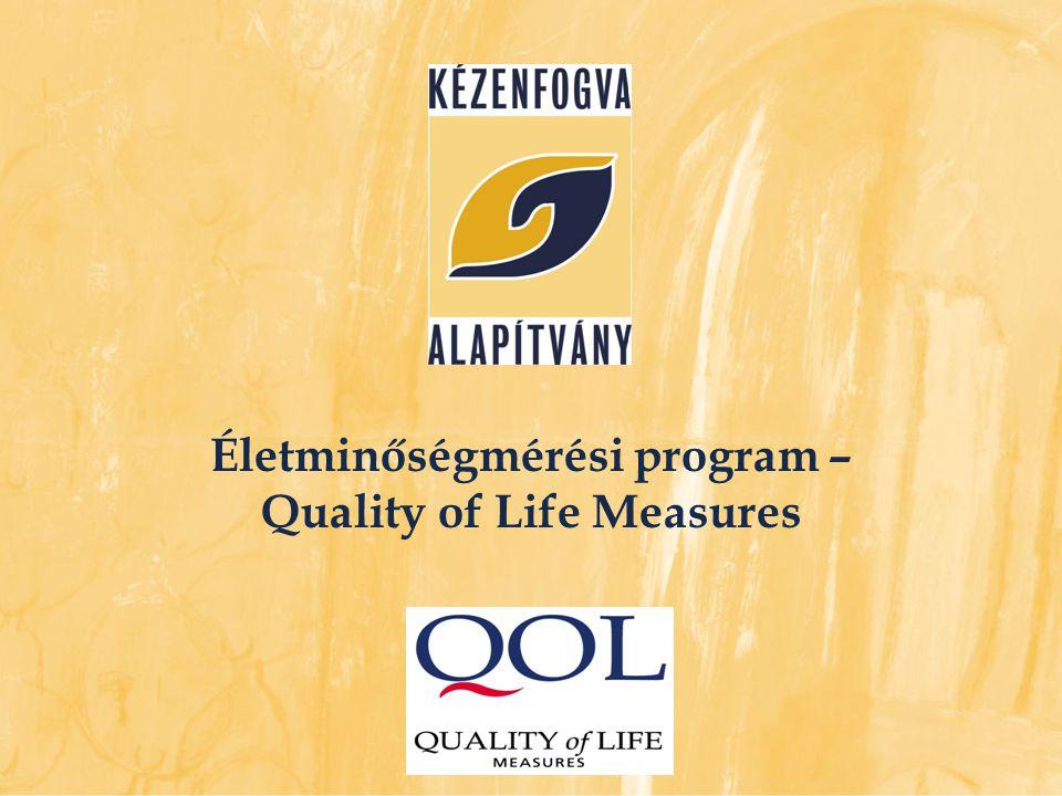 Életminőségmérési program – Quality of Life Measures