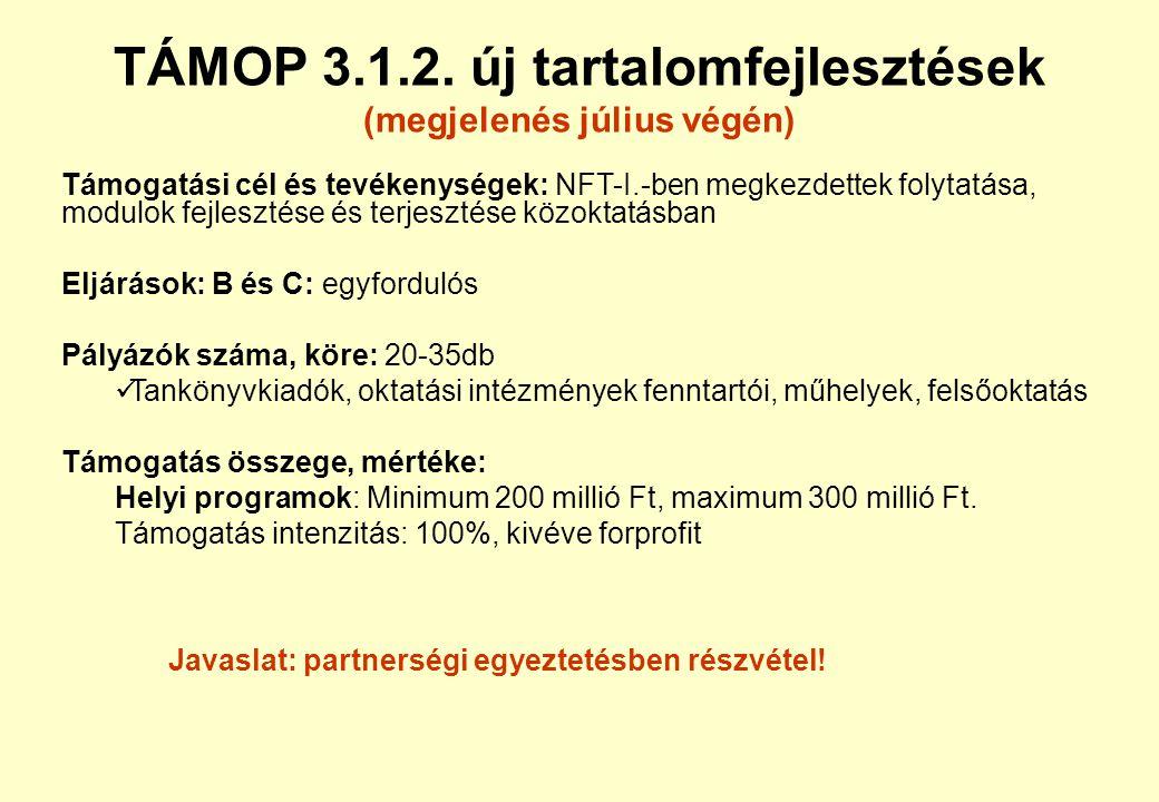 ROP-ok •Iskolaépítés (tervezés, kivitelezés lehet zöld) : DAOP 4.2.1., DDOP 3.1.2., ÉAOP 4.1.1., ÉMOP 4.3.1., KDOP 5.1.1., KMOP 4.6.1., NyDOP 5.3.1. •