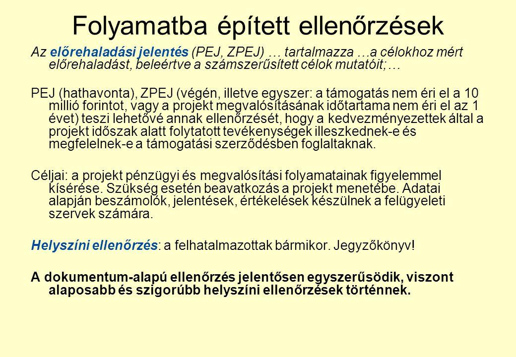 Kedvezményezett Irányító hatóság Közreműködő Szervezet Magyar Államkincstár Kifizetési kérelem összeállítása, támogatási szerződés aláírásától 6 havon