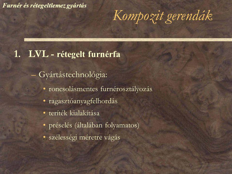 Kompozit gerendák 1.