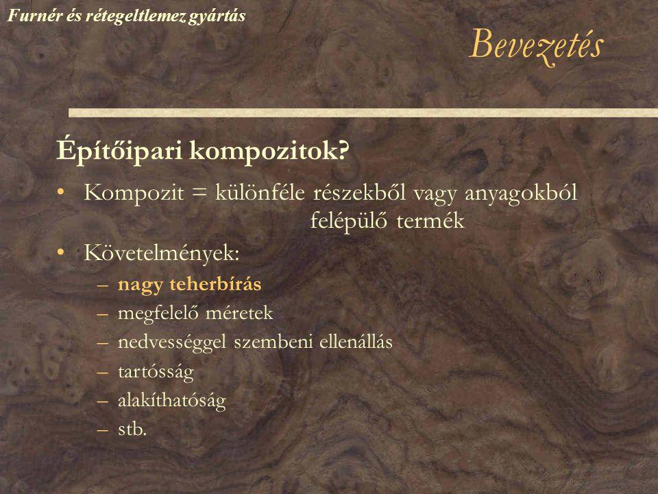 Bevezetés Építőipari kompozitok.