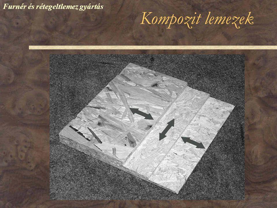 Kompozit lemezek Furnér és rétegeltlemez gyártás