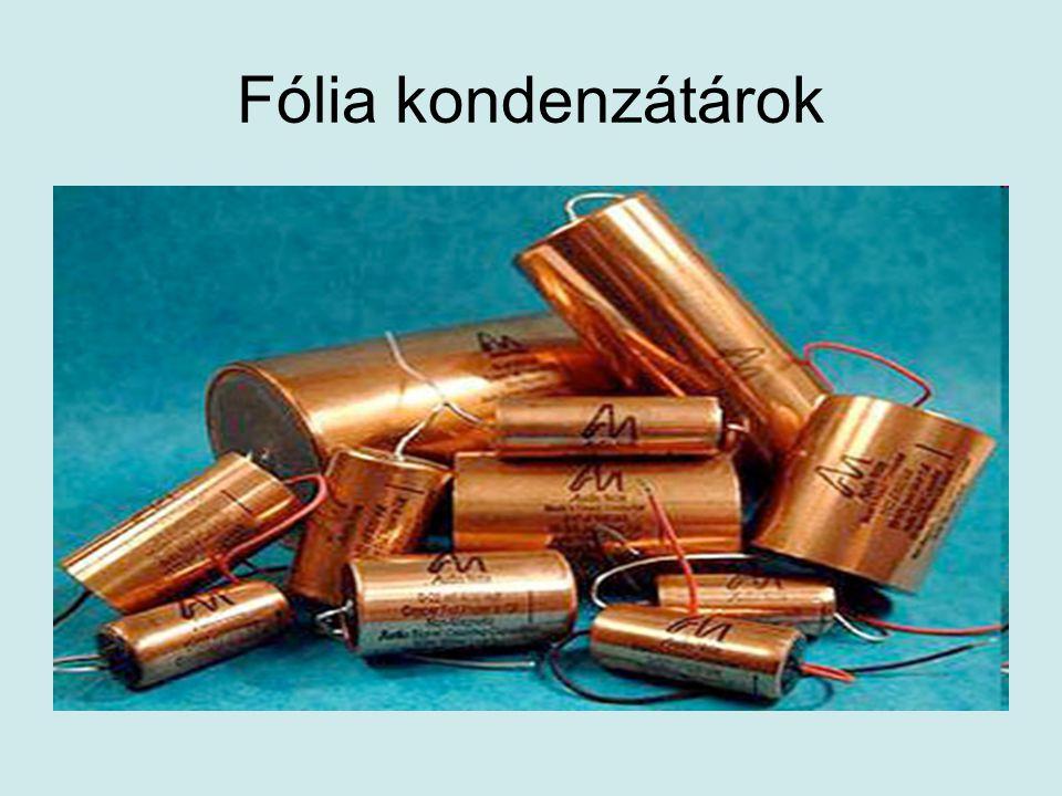 A kondenzátorok felhasználása Példák: •Hangszóró •Mikrofon •Egyenirányító •Egyfázisú indukciós motor