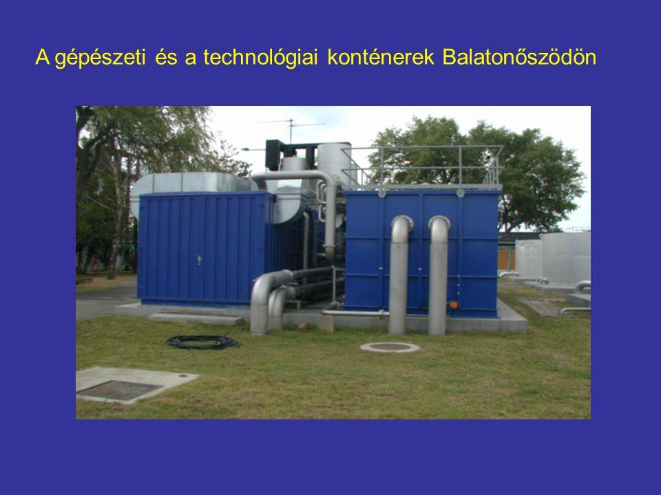 A gépészeti és a technológiai konténerek Balatonőszödön