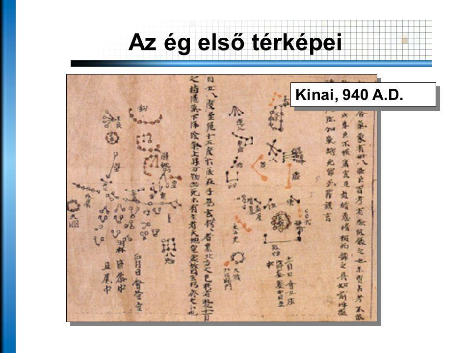 Az ég első térképei Kinai, 940 A.D.