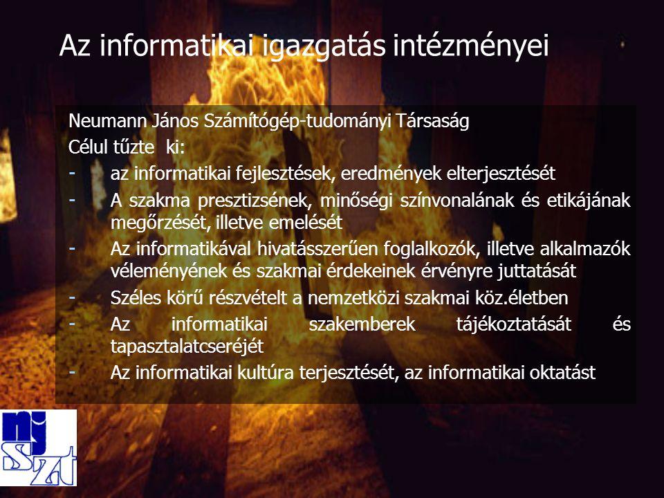 Magyar Tudományos Akadémia Számítástechnikai és Automatizálási Kutatóintézet (MTA SZTAKI) - 1986-ban itt készült el az első hazai csomagkapcsolt (X.25-ös) hálózat, azóta a hálózati technológiák letéteményese - 1991.