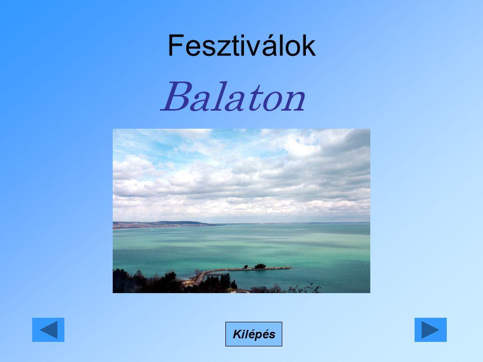 Fesztiválok Balaton Kilépés