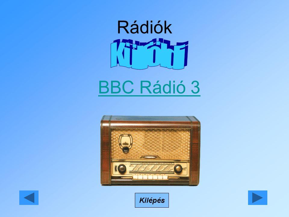 Rádiók BBC Rádió 3 Kilépés