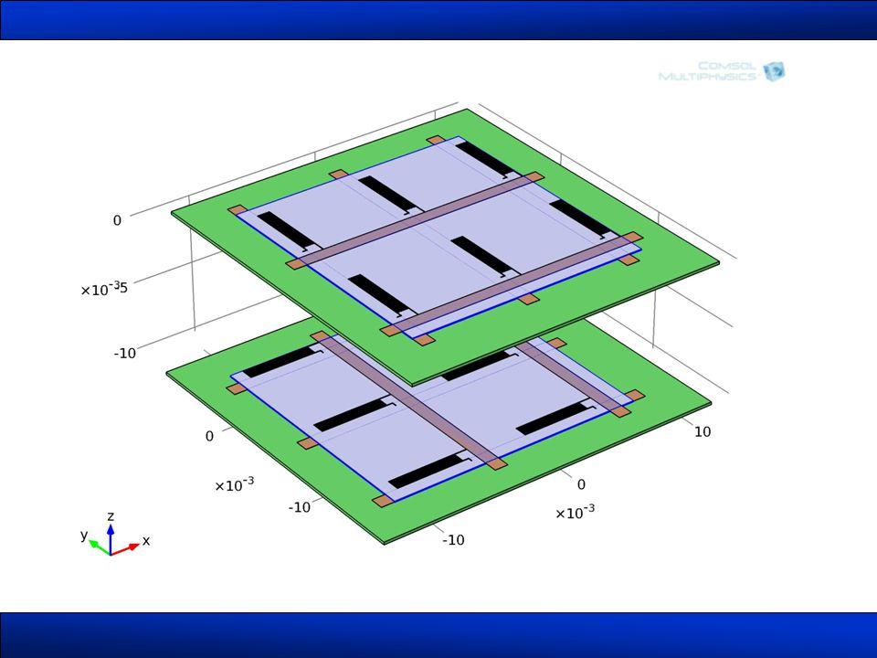 Mérőcella FEM modellezése •Termikus •Mechanikai •Elektromos tulajdonságok
