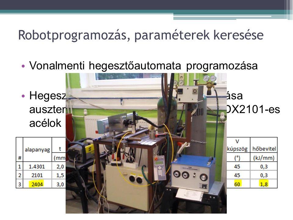 """A mintadarabok hegesztése, paraméterei • A mintadarabok """"I tompakötéssel, szoros illesztéssel készültek t=3,0 mm-es lemezekből • Védőgázban 4.6-os Ar és N2 gáz alkalmazása: ▫ 0%, 1%, 2%, 3%, 5%, 8%, 10% Ni-tartalom"""