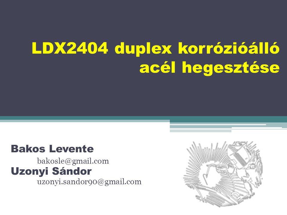 2010-ben az Outokumpu nevű acélgyártó vállalat kifejlesztette az LDX2404-es típusú acélt.
