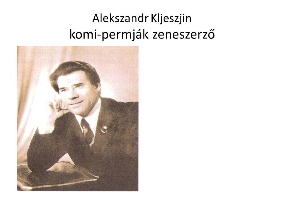 Alekszandr Kljeszjin komi-permják zeneszerző