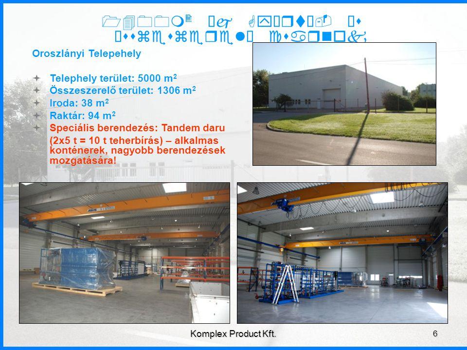 Berendezések 7 Komplex Product Kft.Lemezolló berendezés: Baykal HGL3100x8 Max.