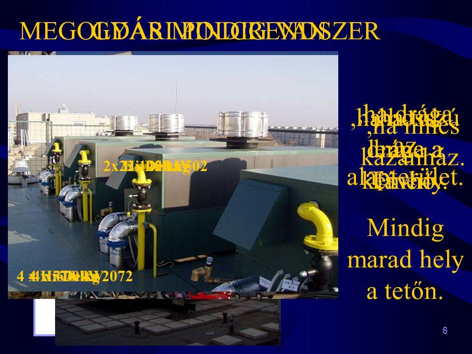 6 GYÁRI POLCRENDSZER 2x Hi-Delta 502,ha drága az alapterület. 2x 140 kW2x 250 kg Mindig marad hely a tetőn. MEGOLDÁS MINDIG VAN,ha hosszú lenne a kémé
