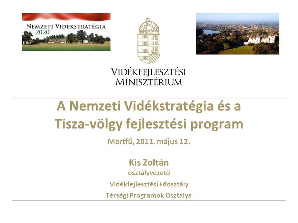A Nemzeti Vidékstratégia és a Tisza-völgy fejlesztési program Martfű, 2011.