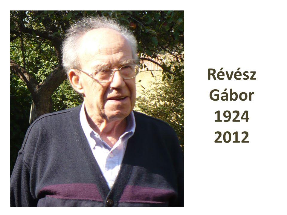 Révész Gábor 1924 2012