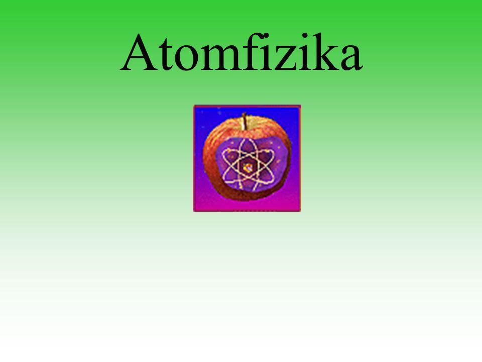 Atomfizika