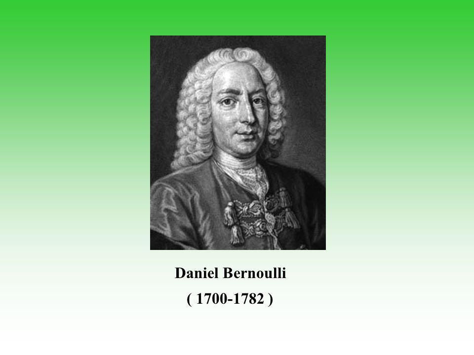 Daniel Bernoulli ( 1700-1782 )