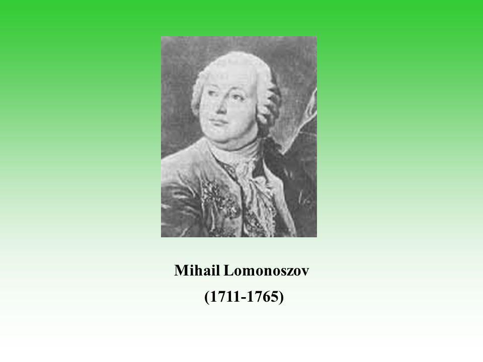 Mihail Lomonoszov (1711-1765)