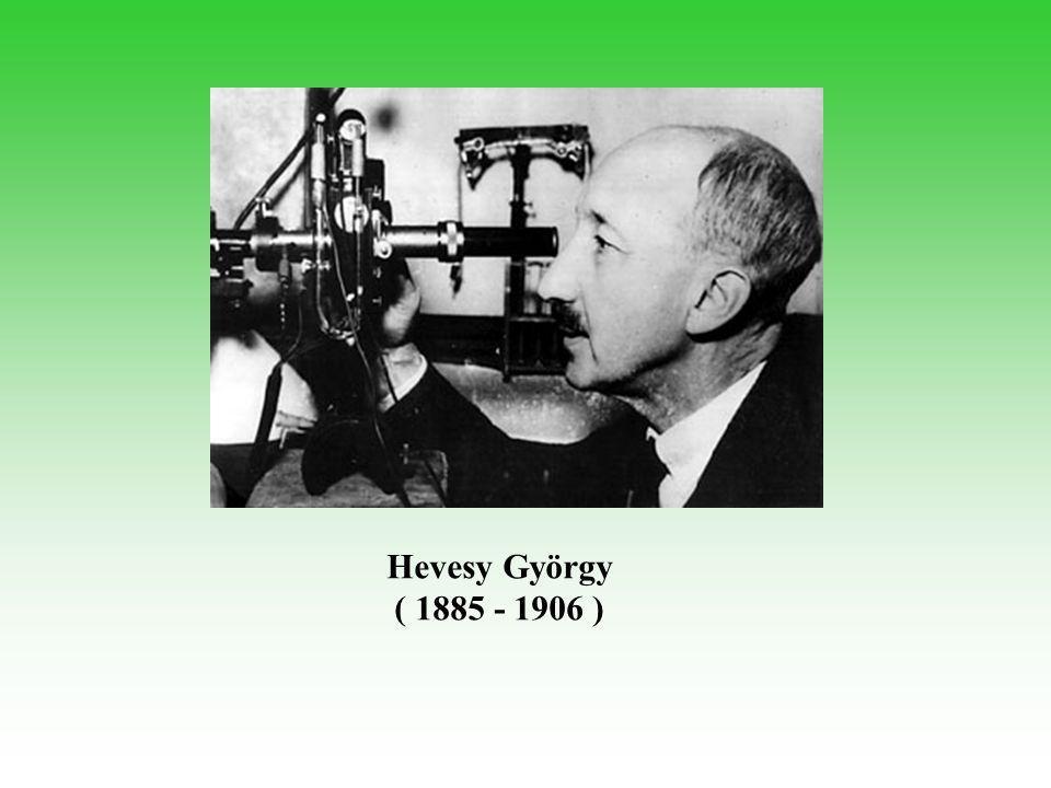 Hevesy György ( 1885 - 1906 )