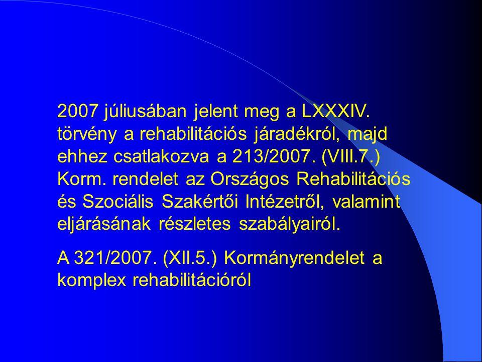 2007 júliusában jelent meg a LXXXIV.