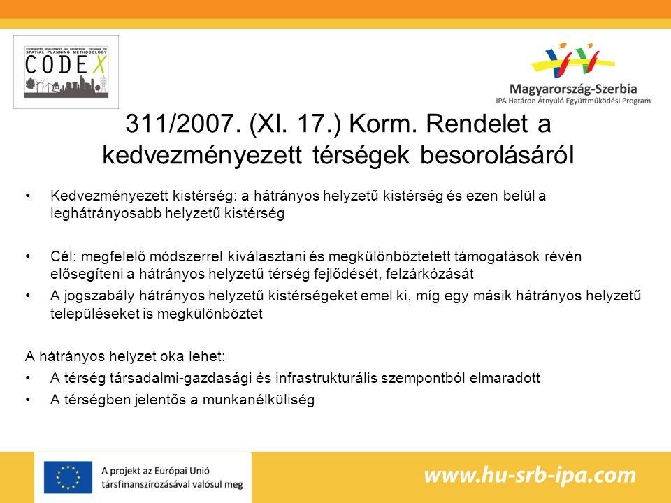 311/2007.(XI. 17.) Korm.
