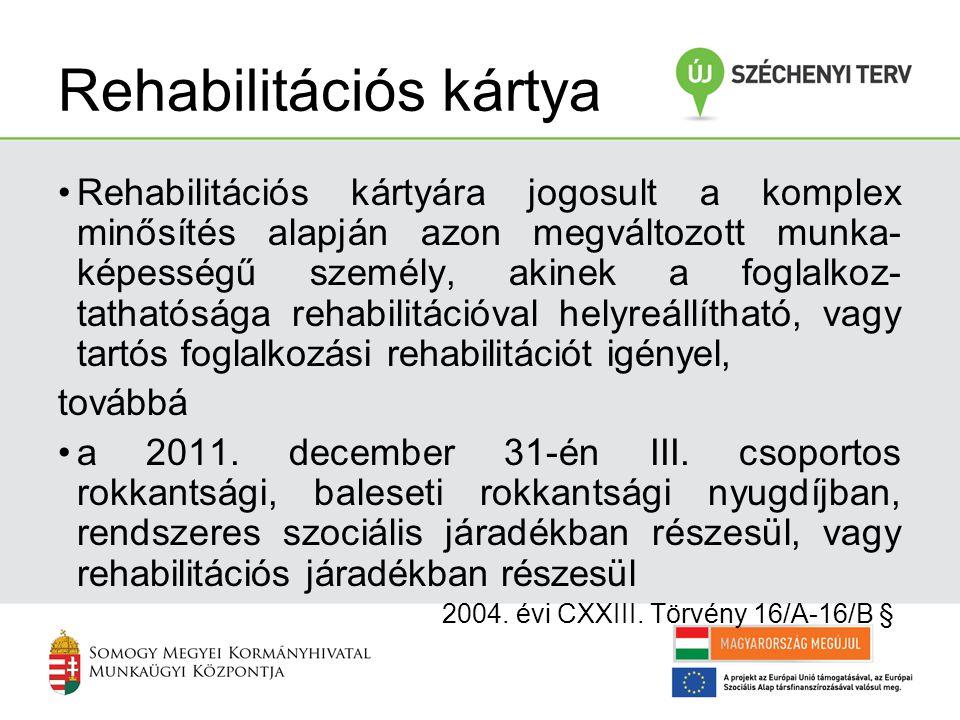 f) az orvosi és a szociális rehabilitációs szolgáltatások igénybevételéhez való segítségnyújtásnak és azok figyelemmel kísérésének a formáit, g) a sikeres rehabilitáció érdekében szükséges további intézkedéseket, h) a rehabilitációs ellátásban részesülő személynek a rehabilitációs szolgáltatások igénybevételével összefüggő kötelezettségeit, ezek teljesítésének módját, határidejét és i) a rehabilitációs ellátásban részesülő személynek a kirendeltségnél történő jelentkezései gyakoriságát, a kapcsolattartás módját.
