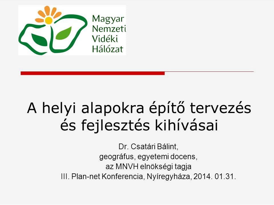 """A kezdeti nehézségek   Az első """"ősbűn (1990): …a centralizált, államszocialista tervgazdasági szisztéma megszűnésével, """"lebontásával a hagyományos értelemben vett, magas színvonalon megszervezett (állami, területi) és kellően sokoldalú – a közjót szolgáló, a közhasznot, közjószágot kellően védő, – köztervezés is megszűnt Magyarországon."""
