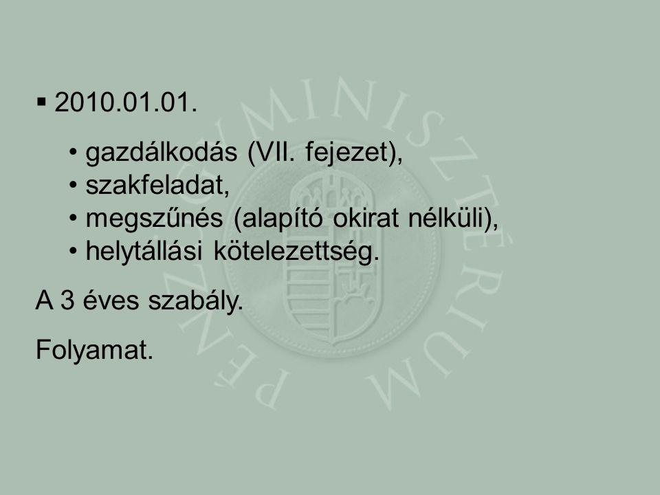  2010.01.01. • gazdálkodás (VII.