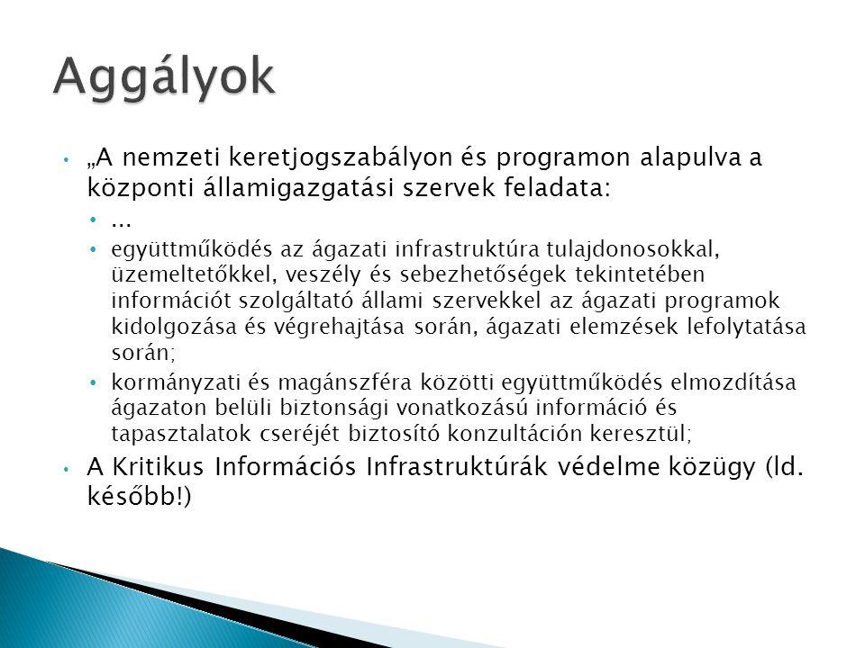 """• """"A nemzeti keretjogszabályon és programon alapulva a központi államigazgatási szervek feladata: •..."""