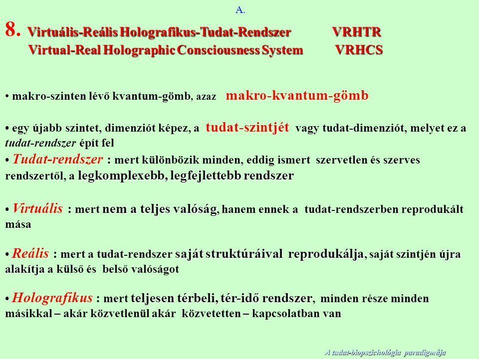 A. Virtuális-Reális Holografikus-Tudat-Rendszer VRHTR 8.