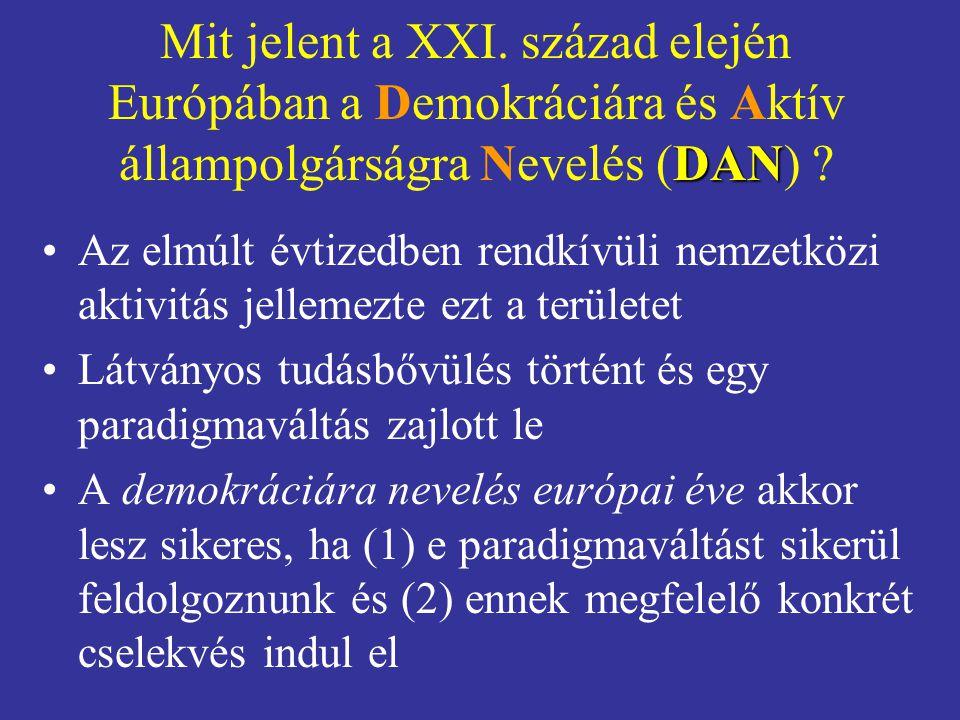 DAN Mit jelent a XXI.