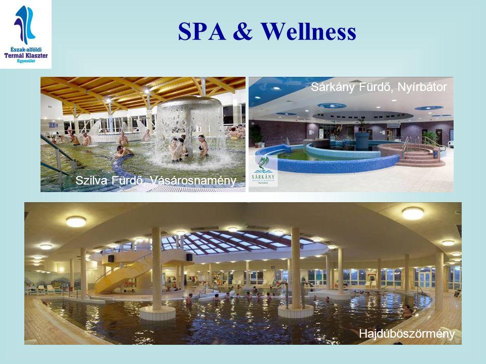 SPA & Wellness Szilva Fürdő, Vásárosnamény Sárkány Fürdő, Nyírbátor Hajdúböszörmény