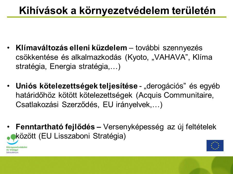 Új Magyarország Fejlesztési Terv (ÚMFT) 15 Operatív Program •Gazdaságfejlesztés GOP •Közlekedés KÖZOP •Társadalmi Megújulás TÁMOP •Társadalmi Infrastruktúra TIOP •Környezet és Energia KEOP •Államreform ÁROP •Elektronikus közigazgatás EKOP •7 Regionális ROP-ok •Végrehajtás VOP