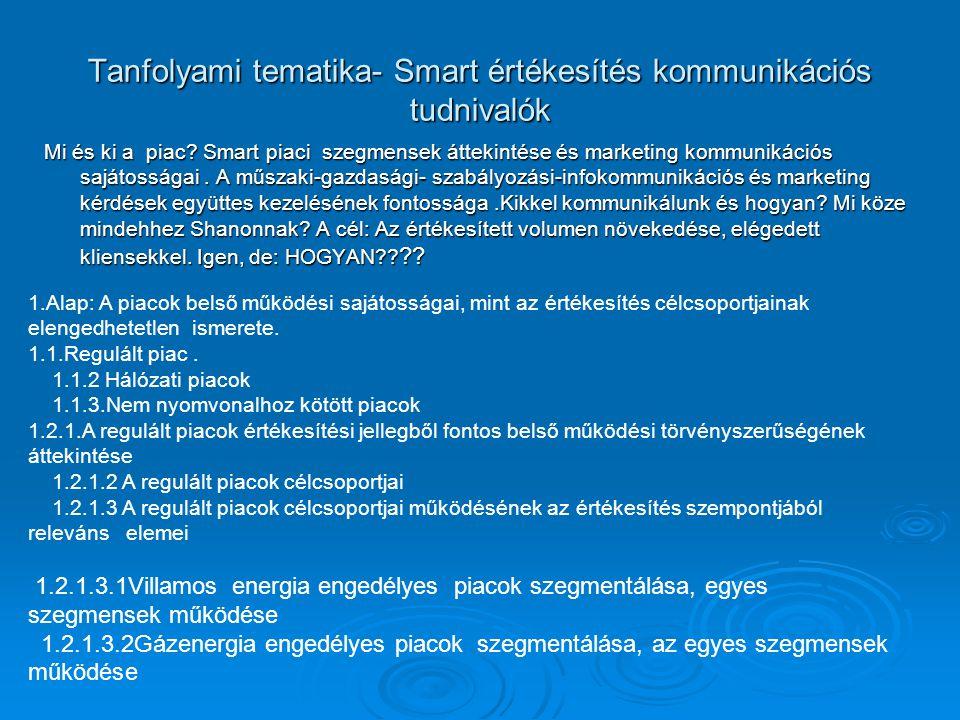 Mi és ki a piac. Smart piaci szegmensek áttekintése és marketing kommunikációs sajátosságai.