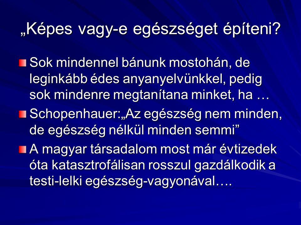 Születéskor várható élettartam Magyarországon, Ausztriában, az Európai Unióban és Közép- és Kelet Európa országaiban, 1970-2002 Forrás: WHO Health for All 2003