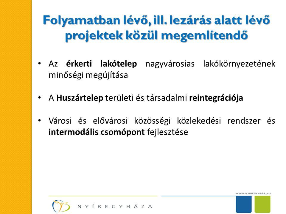 Zajlik a településfejlesztési koncepció és integrált településfejlesztési stratégia kidolgozása –a megalapozó vizsgálat (helyzetelemzés) elkészült –a koncepció kidolgozásának várható elkészülése 2014.