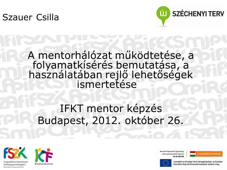 Tartalomjegyzék 1.Az FSZK Nonprofit Kft.-ről röviden 2.