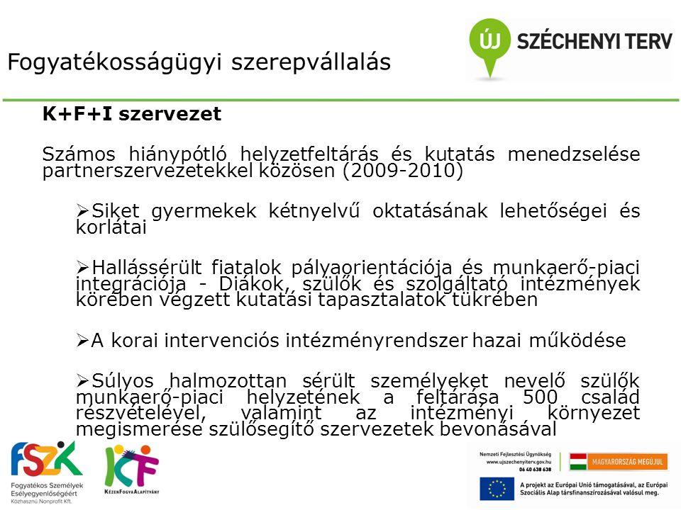 A két fejlesztési program szinergiája 1.A pályázó intézményeknek 2012.