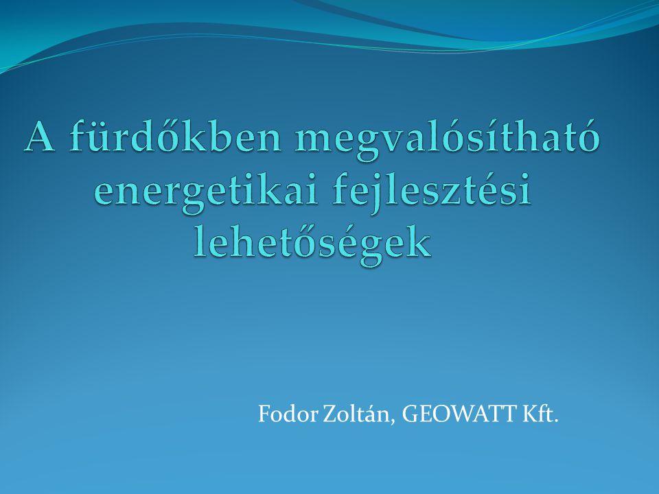 Fodor Zoltán, GEOWATT Kft.