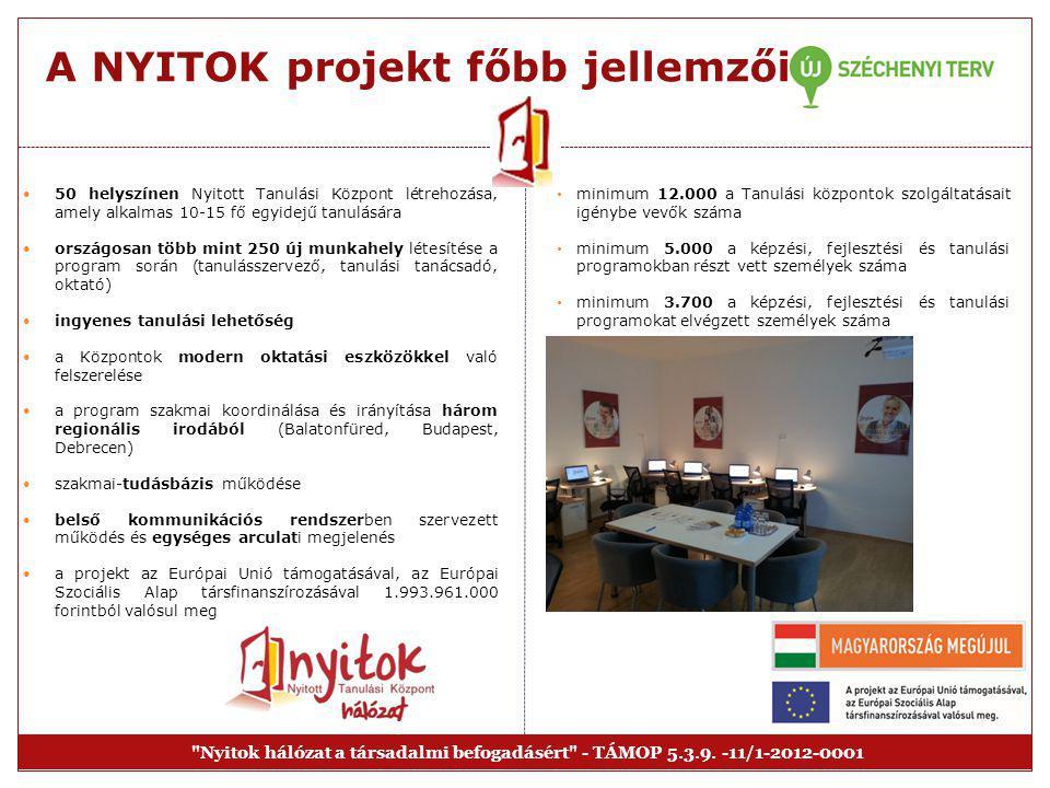 """A program előzményei  """"Tanulási partnerségek kezdeményezése  9 tagszervezet és a VOX (Norvég Felnőttképzési Intézet) együttműködésével 9 helyi Nyitott Tanulási Központból álló hálózat felállítása  az EGT és Norvég Finanszírozási Mechanizmusok történetében először Magyarországot érte az a megtiszteltetés, hogy 2011 márciusában a norvég támogatások egyik jó gyakorlataként a projekt bemutatásra került a Finanszírozási Mechanizmus Iroda munkatársai előtt  sikerünk kulcsa: egyéni módszertan, befogadó szellemiség, és jól felkészített tanulásszervezők"""