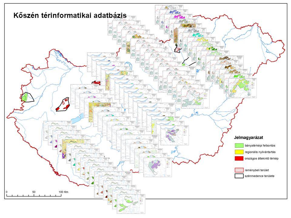Kőszén térinformatikai adatbázis