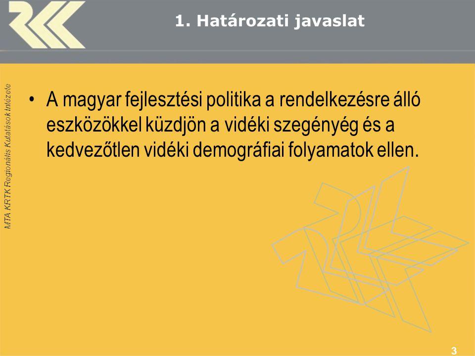 MTA KRTK Regionális Kutatások Intézete 1.