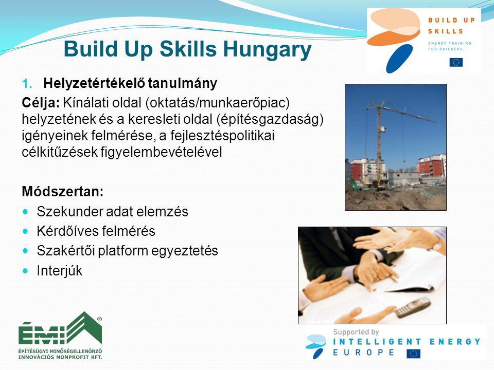 Build Up Skills Hungary 1.