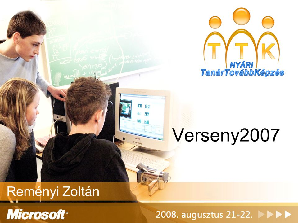 Kérdések •Ki hallott a Verseny2007-ről.•Kinek a diákja jelentkezett.
