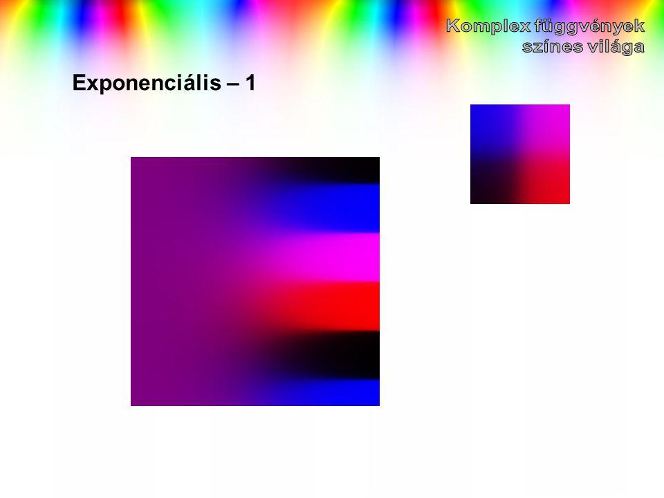 Exponenciális – 1