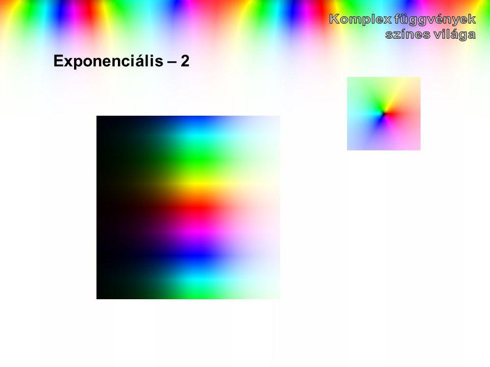 Exponenciális – 2